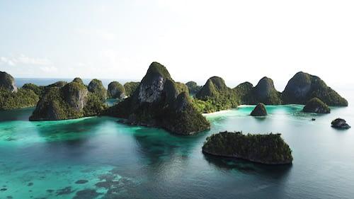 West Waigeo Wayag Raja Ampat Marine Park
