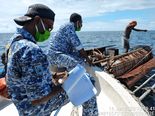 BLUD Misool Ranger Patrol Raja Ampat Marine Park Authority
