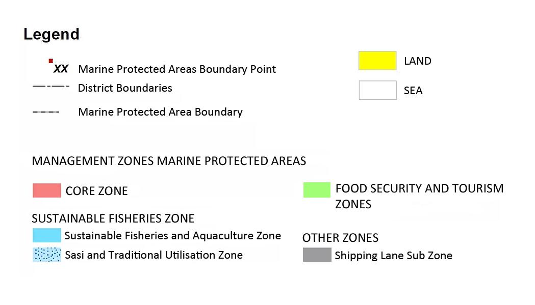 Zoning Raja Ampat Marine Park